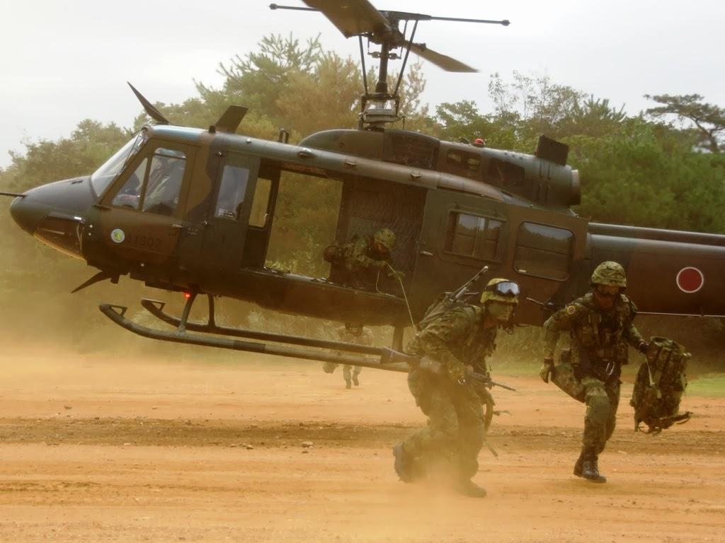第6次即応予備自衛官招集訓練・ヘリボン訓練(第49普通科連隊・豊川)