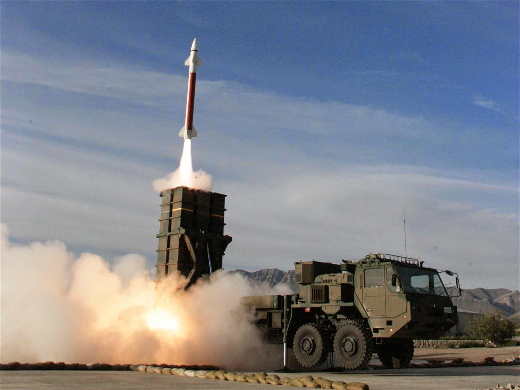 03式中距離地対空誘導弾 高射学校・中SAM射撃