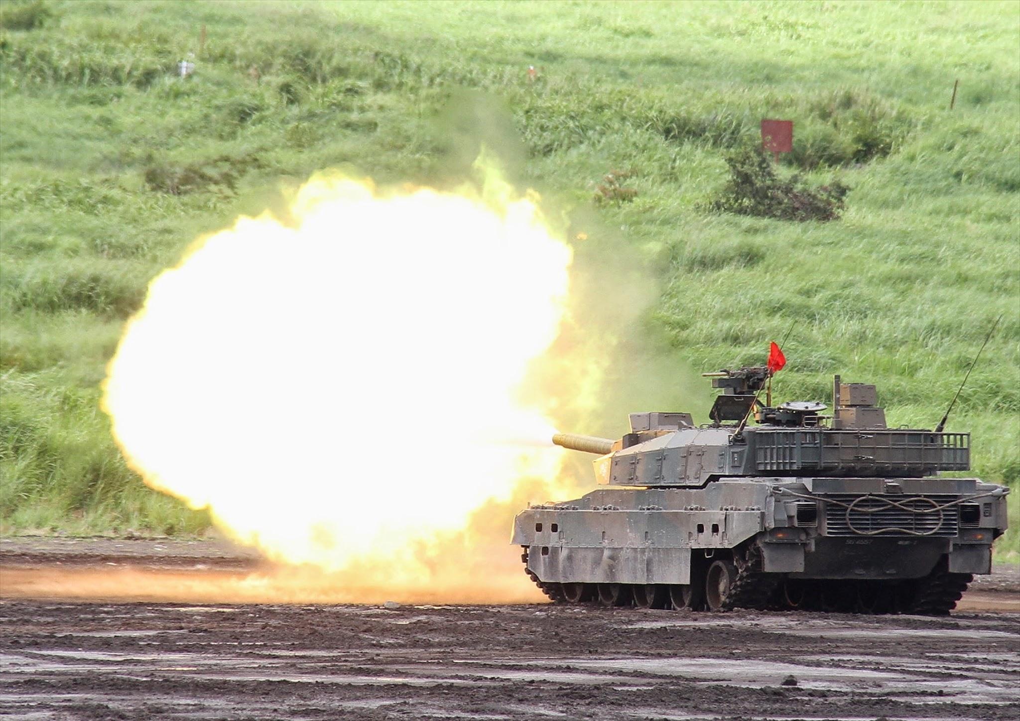 10式戦車(富士総合火力演習) (2)
